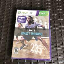 BRAND NEW Nike+ Kinect Training Exercise Workout Game XBOX 360 (Factory Sealed)
