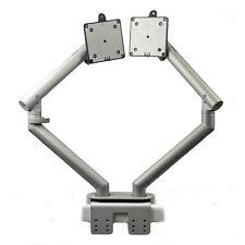 "Herman Miller 24"" Dual Flo Monitor Arm Desk Mount Support Stand - Adjustable"