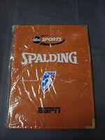New Spalding WNBA Basketball Official Game Ball Portfolio Notepad Folder
