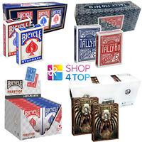 12 DECKS BICYCLE PLAYING CARDS BOX CASE MAGIC TRICKS POKER USPCC MADE IN USA NEW