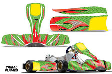 Go Kart Racing Graphics Kit Decal Sticker Wrap For Tony Kart M6 2015+ TRIBAL R G