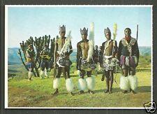 Natal Zulu Dancers Costume South Africa 60s