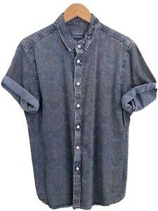 Vintage Topman Short Sleeve Shirt - Retro Topman