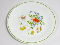 "Corelle® by Corning Flowers Pattern 8½"" Desert / Bread Plate VGUC Free Shipping"