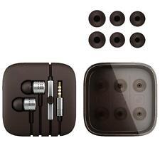 Xiaomi 2nd Piston Earphones 3.5mm Earbuds In-Ear & Mic Wire Control Silver SP
