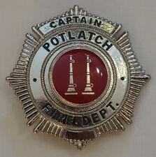 USA - FEUERWEHR - Potlatch Fire Department - Captain - REPLIK - ANSEHEN