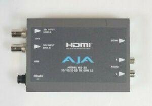 AJA Hi5-3G 3G/Dual Link/HD/SD-SDI to HDMI Mini-Converter