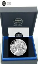 FRANCE 10 EURO B. EPREUVE ARGENT 2020 JOHNNY HALLYDAY 60 ANS DE SOUVENIRS @ RARE