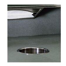 Bobrick B-529 Circular Waste Chute Satin/Polished Stainless Steel