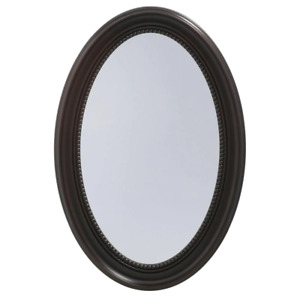 Bathroom Medicine Cabinet Oval Recessed or Surface-Mount 20 in. W x 30 in. H