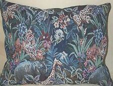 Home Decor' Pillow Tapestry Elephant Tiger Panda Bear Zebra 18 by 15 inches New