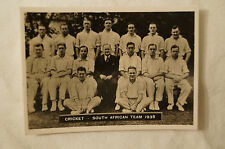1930'S -Vintage Ardath Medium Cricket Photocard - South African Team 1935