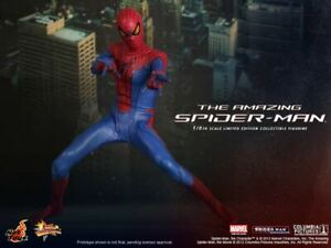 THE AMAZING SPIDER-MAN HOT TOYS ACTION FIGURE NO RESERVE!