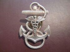 US Medical Anchor Cap Hat Badge Screw Back USN Unknown Pin Naval Insignia OB050