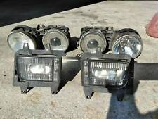 BMW E32 E34 5 7 Series LEFT AND  RIGHt Head Light Lamp OEM HELLA PLUS FOG LIGHTS