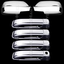 For Jeep GRAND CHEROKEE 2005-2010 Chrome Covers Set Full Mirrors+4 Doors w/out K