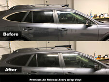 Crux Moto Window Chrome Delete Kit Air Release Wrap fits Subaru Outback 2020+
