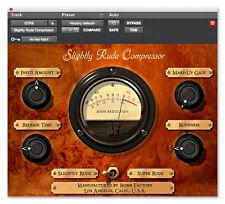 Avid Digidesign Slightly Rude Compressor TDM, RTAS Plugin iLok asset