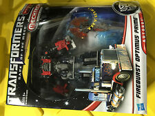 TRANSFORMERS Autobot Optimus Prime Fireburst Special Edition Voyager Class MINT!