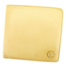 Auth CHANEL wallet COCO Button Women''s Men''s used T2394