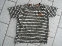 Kindershirt Jungen Shirt T-Shirt Marke Topolino Größe EUR 122  olivgrün/weiß