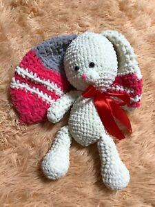 Bunny Handmade Amigurumi Bunny Toy Crotchet Animal Bunny Doll