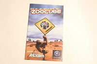 Nintendo Gamecube - Zoocube - Instruction Manual Booklet