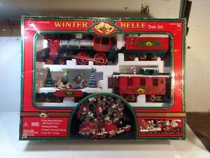 New Bright Winter Belle Express G Gauge Scale Train Set tr2180