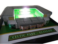 CELTIC PARK MODEL STADIUM WITH WORKING FLOODLIGHTS