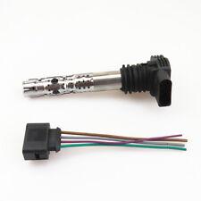 Ignition Coil + Plug Cable Connection For VW Golf Bora Jetta Passat AUDI A6 A4