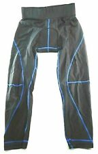 Women's 3D Gel Padded Breathable Compression Long Cycling Pants Tights Size M
