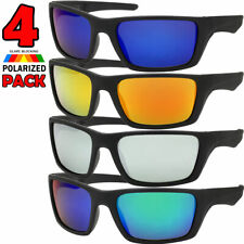 Sunglasses Polarized Mens Sport 4 PACL Color Mirror Fishing Outdoor Glasses New