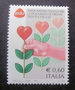 Medizin Organspende Transplantation Zellen  Italien 2005