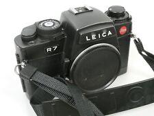 Leica R7 black body Gehäuse + Gurt Strap   **ANKAUF**