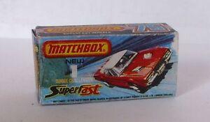 Repro Box Matchbox Superfast Nr.  01 Dodge Challenger