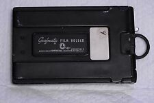 "Grafmatic ""45"" 4x5 Film Holder by Graflex with 9 septums"