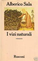 I VIZI NATURALI Alberico Sala prima ed.1985
