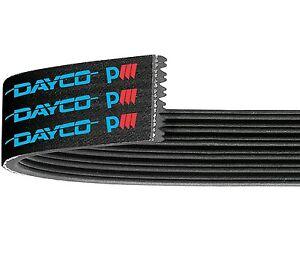 Dayco Poly Rib Belt 6PK2870 fits Jeep Cherokee KJ 2.5 CRD 4x4, KJ 2.8 CRD 4x4