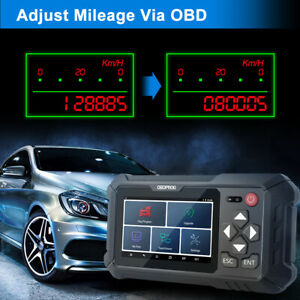 Auto Car Odometer Adjustment Tool Mileage Correction OBDII Diagnostic Scan Tools