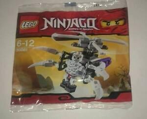 Lego Ninjago Frackjaw Skeleton Chopper 30081 Polybag