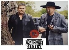 Montgomery Gentry 5x7 Signed Autograph RP