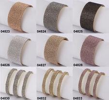 Modeschmuck-Armbänder im Armreif-Stil mit Strass