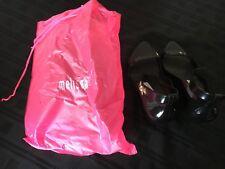 MELISSA Por herchcovitch alexandre Size 4 37 UE Brand New UNWORN Black Wedge