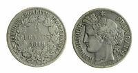 s309) FRANCIA - Seconda Repubblica (1848-1852) - 5 Franchi 1849 A Kr. 761.1