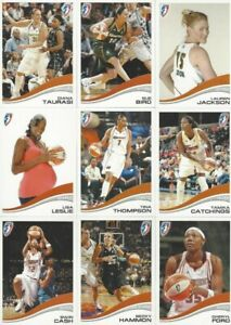 2007 RITTENHOUSE WNBA PARALLEL UNIQUELY NUMBERED # / 333 CARDS *YOU PICK* STARS!