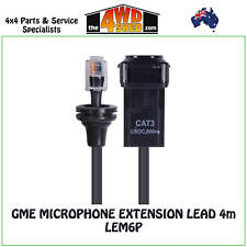 LEM6P Microphone Extension Lead Modular GME
