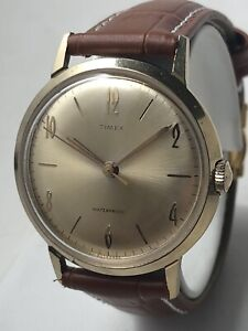 Vintage Original 1965 Timex Marlin Men's Watch Serviced 🇬🇧 Verified Marlin