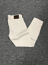 TRUE RELIGION TAN LINDA STRETCH CROPPED JEANS SZ 28 MADE IN THE USA