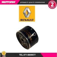 8200768913 Filtro olio adat.Dacia-Nissan-Renault (MARCA RENAULT ORIGINALE)