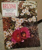 009 Vintage January 1966 Arizona Highways Magazine